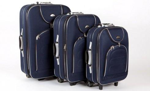 obrázek Sada tří cestovních kufrů