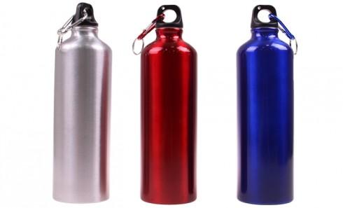 obrázok Fľaša na vodu s karabínou