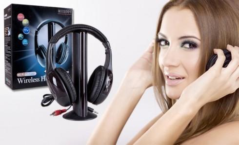 Bezdrátová sluchátka 5v1 WH10
