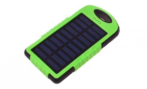 obrázek Solární nabíječka a svítilna - powerbanka