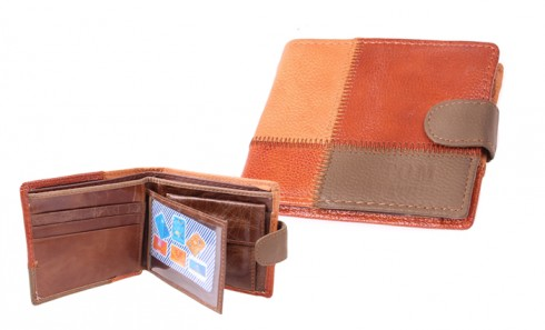 Peněženka pánská barevná