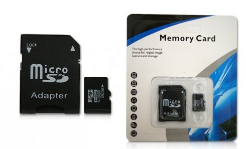 Micro SD paměťová karta 32GB