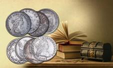 Kopie historických mincí – sada 8 ks