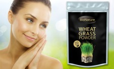 100% Bio Zelená mladá pšenice