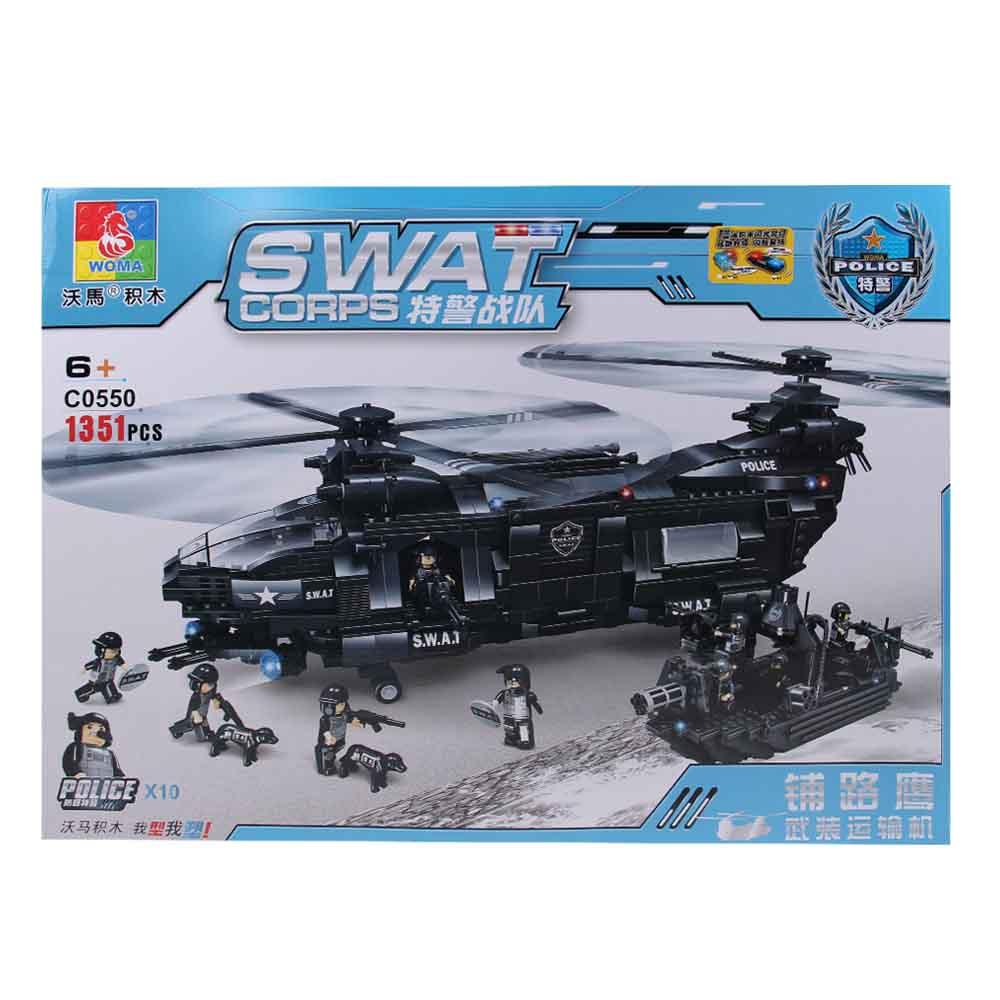 Stavebnice SWAT Vrtulník - náhled